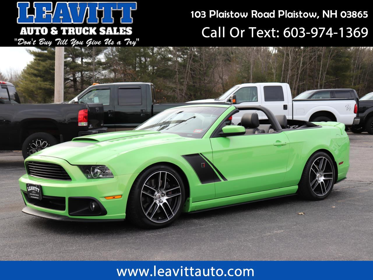2013 Ford Mustang ROUSH STAGE 3 12K MILES!!
