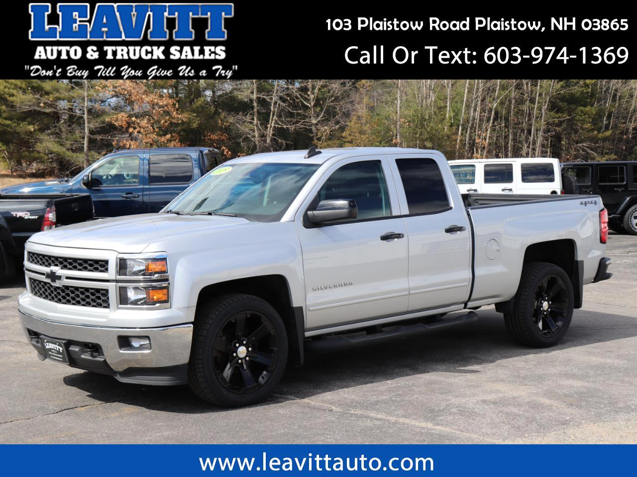 "2015 Chevrolet Silverado 1500 LT DOUBLE CAB 62K MILES 22"" WHEELS!!"