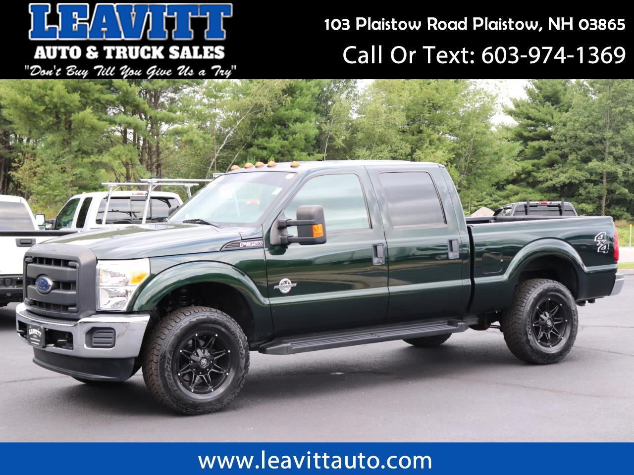 2012 Ford F-350 SD CREW CAB 6.7L POWERSTROKE 75K MILES