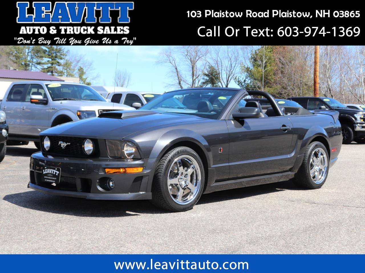 2007 Ford Mustang Roush Convertible