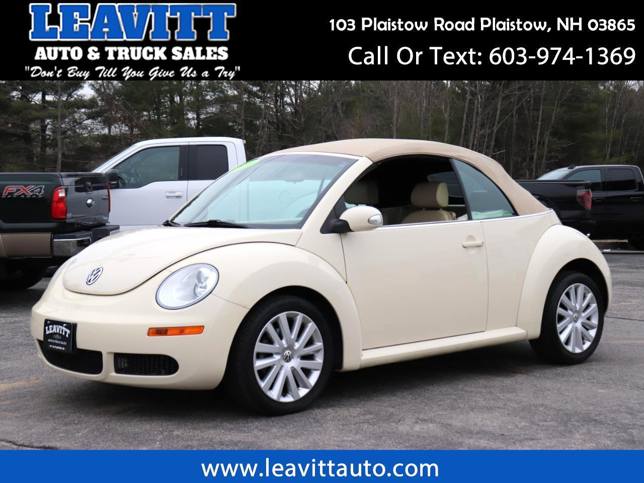 2008 Volkswagen New Beetle S CONVERTIBLE 89K MILES