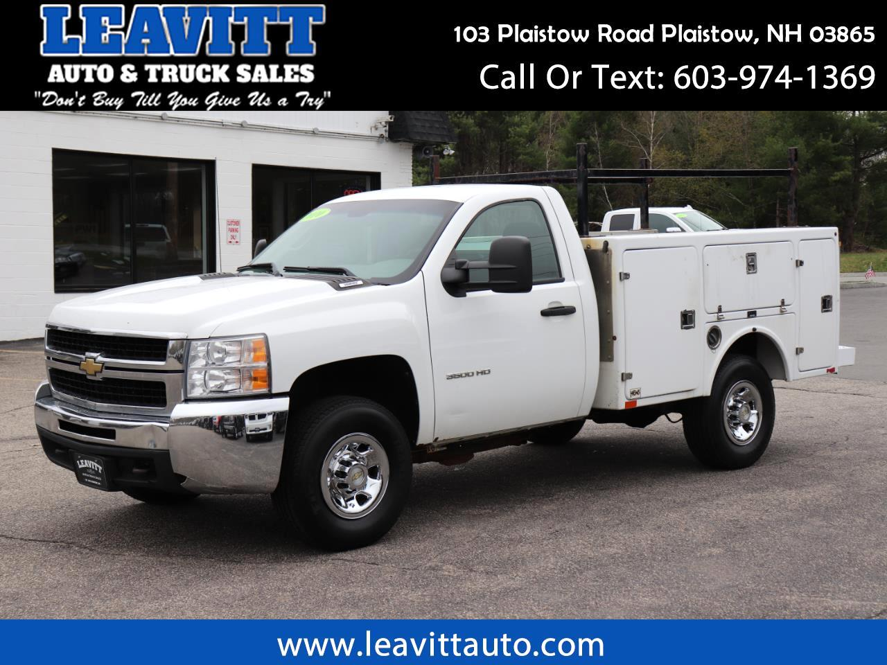 2010 Chevrolet Silverado 3500HD UTLITY BODY W/T
