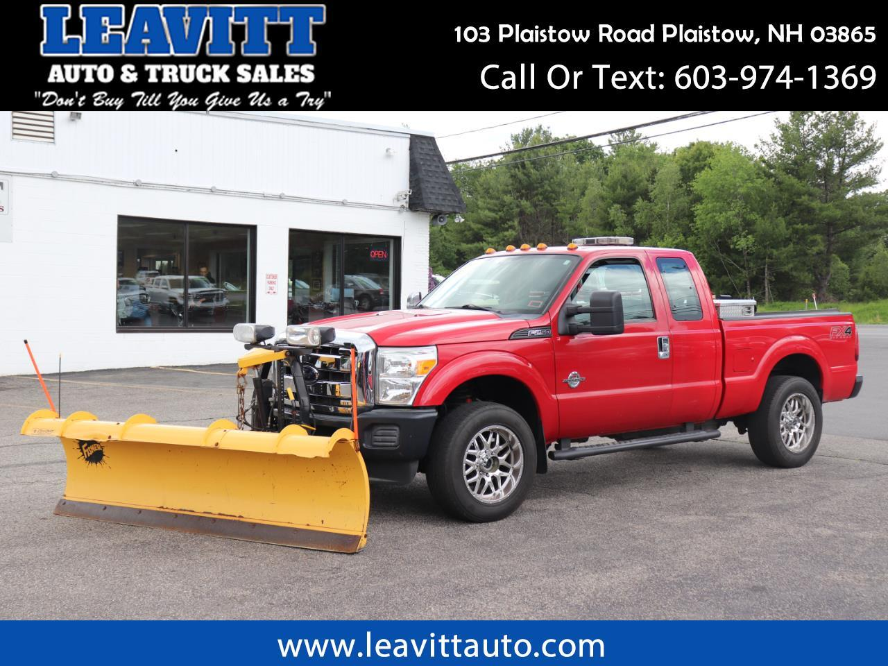 "2012 Ford F-250 SD SUPERCAB 6.7L DIESEL W/8'6"" FISHER MM2!!"