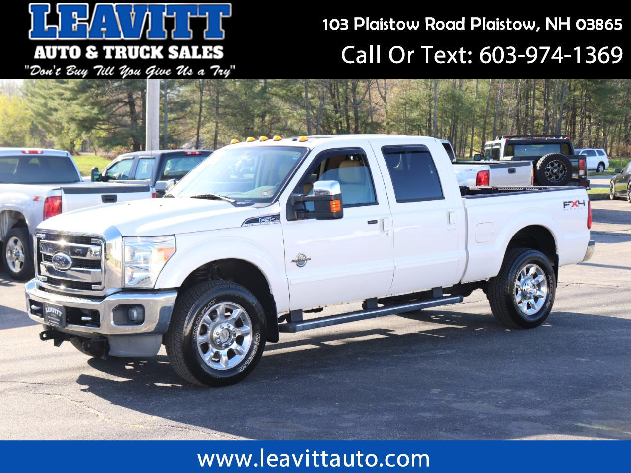 2011 Ford F-350 SD LARIAT CREW CAB 6.7L POWERSTROKE