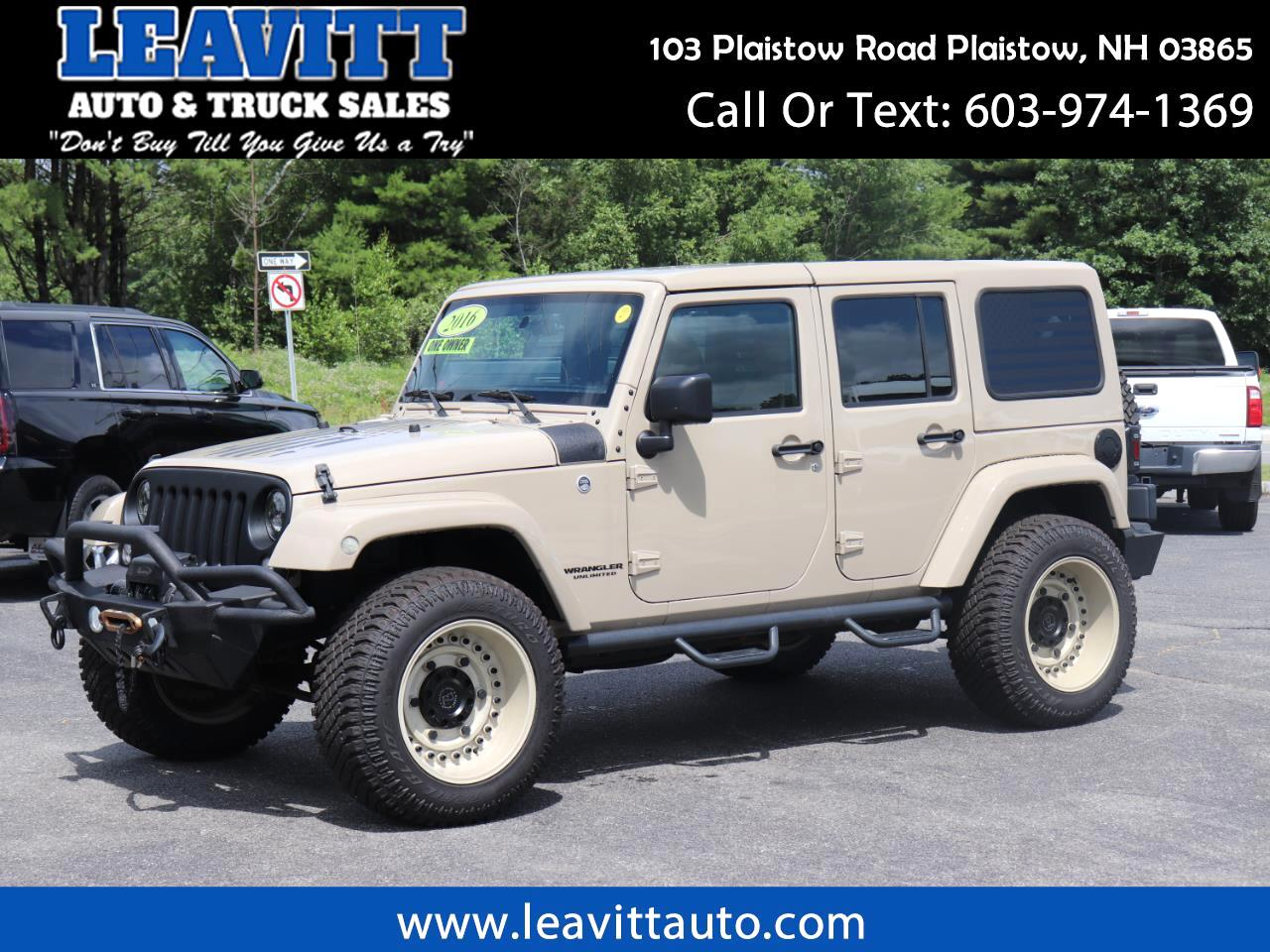 2016 Jeep Wrangler UNLIMITED SPORT 30K MILES THOUSANDS IN EXTRAS!!