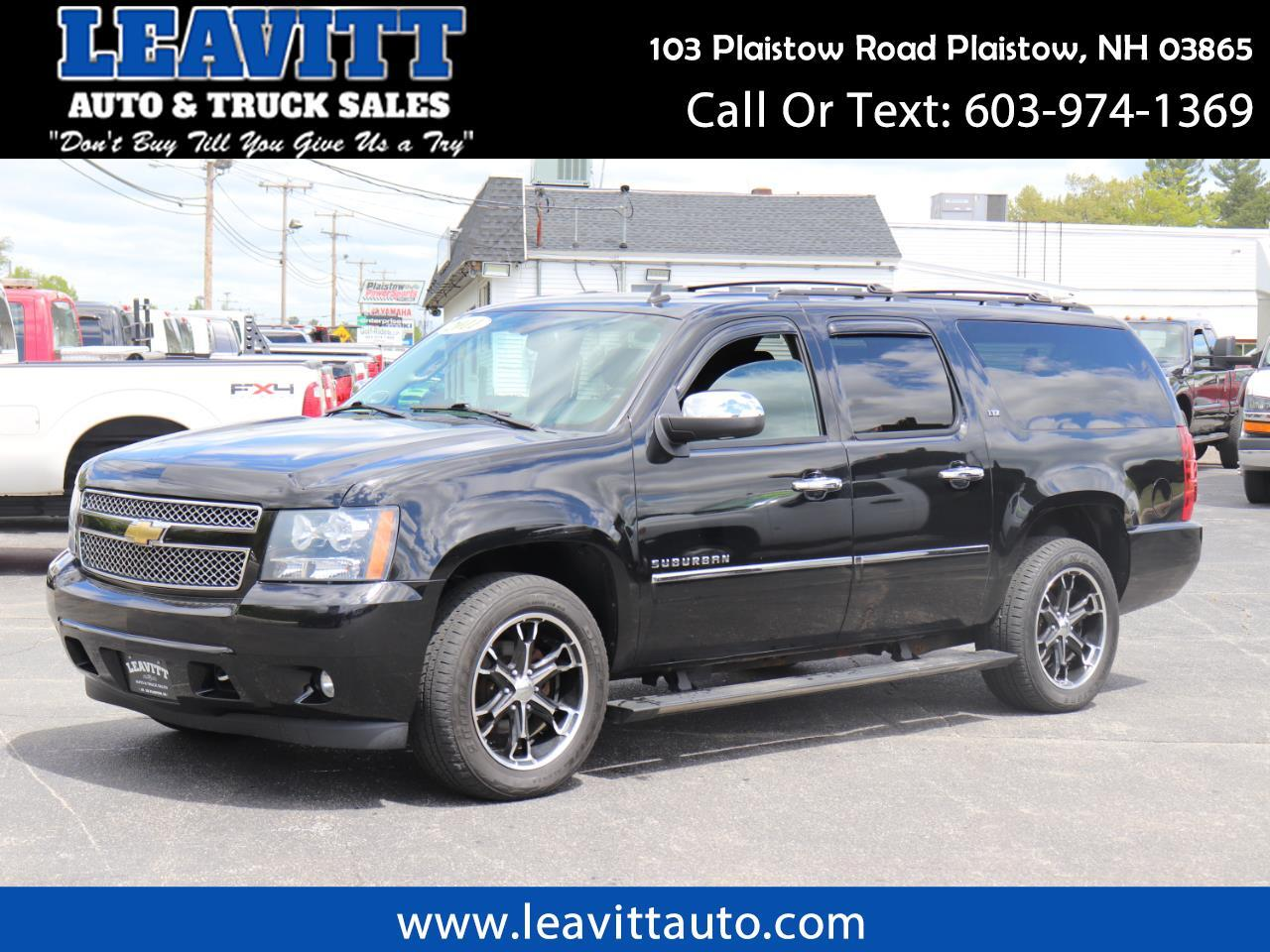 2011 Chevrolet Suburban LTZ BLACK ON BLACK LOADED!!