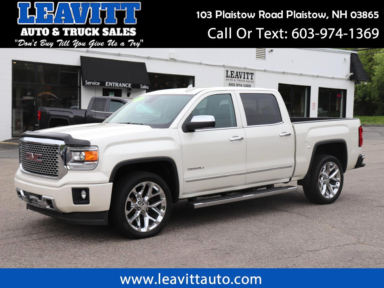 2015 GMC Sierra 1500 DENALI CREW CAB 4X4 LOADED
