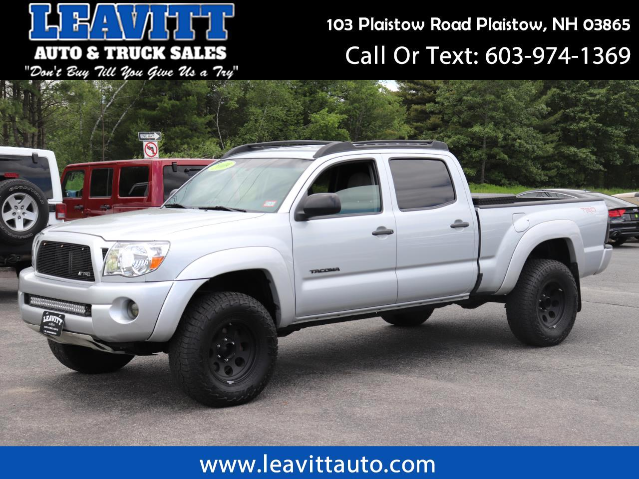 2009 Toyota Tacoma DOUBLE CAB LONG BED TRD