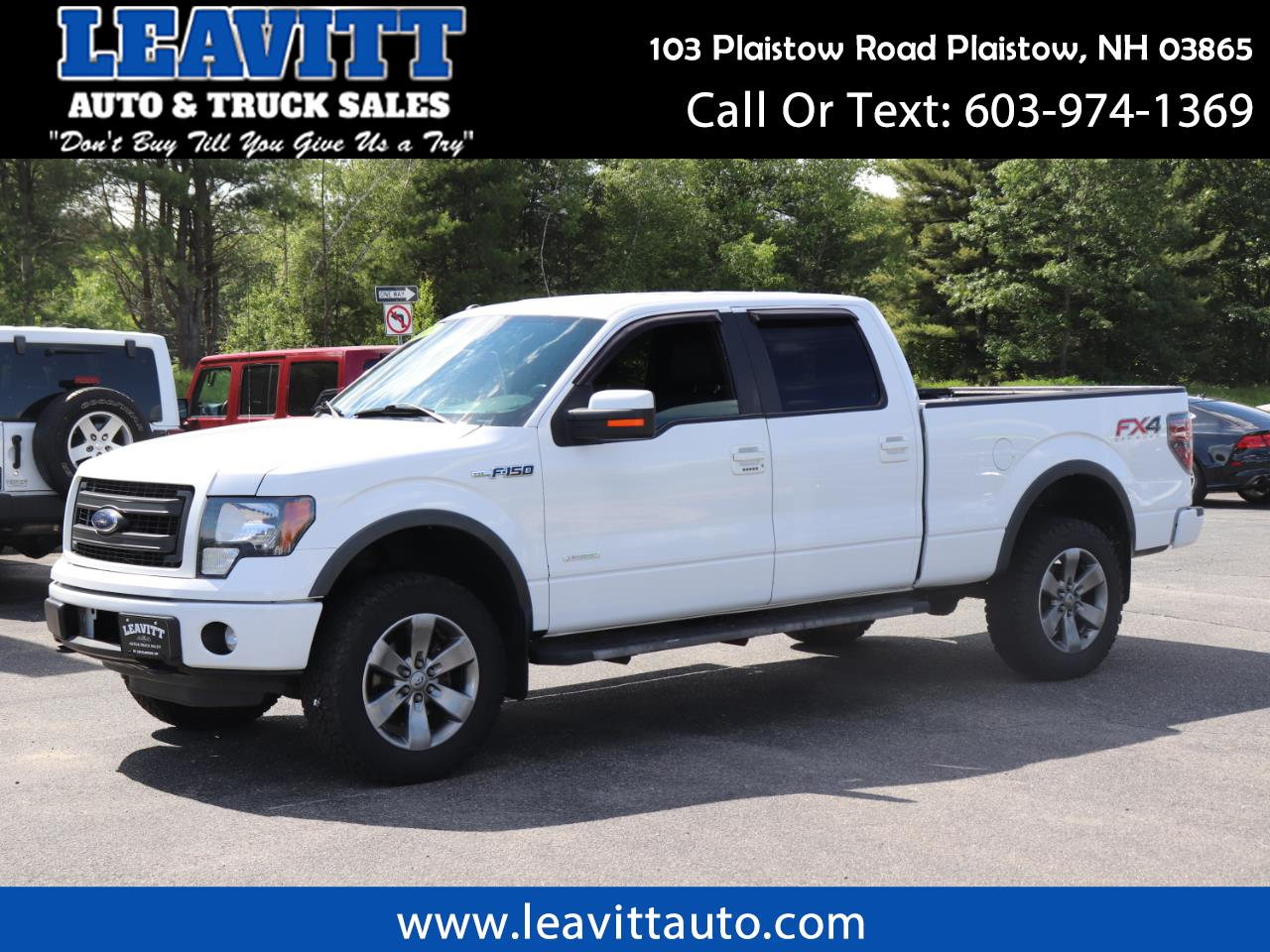 2013 Ford F-150 FX4 SUPERCREW 4X4 6.5FT BED