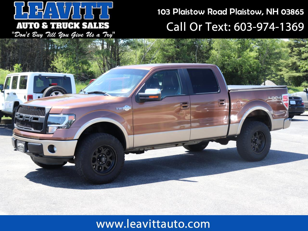 2011 Ford F-150 KING RANCH SUPERCREW LOADED!!
