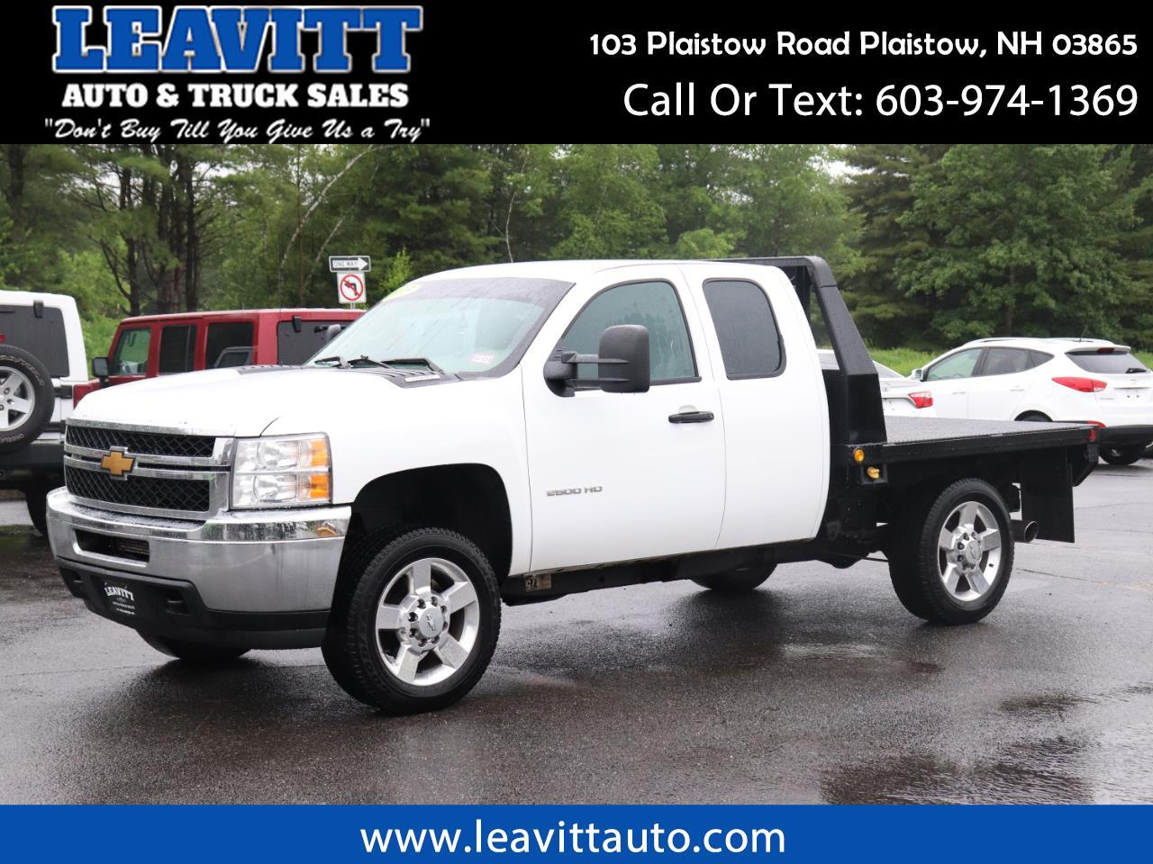 2013 Chevrolet Silverado 2500HD FLAT BED X-CAB DENALI WHEELS!!