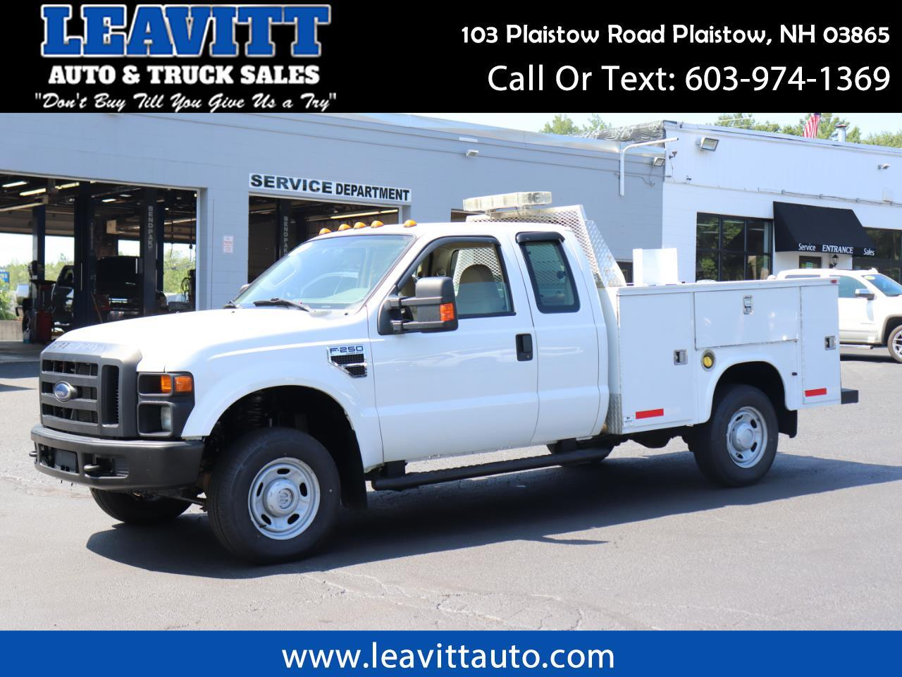 2010 Ford F-250 SD SUPER CAB UTILITY BODY 113K MILES 4X4