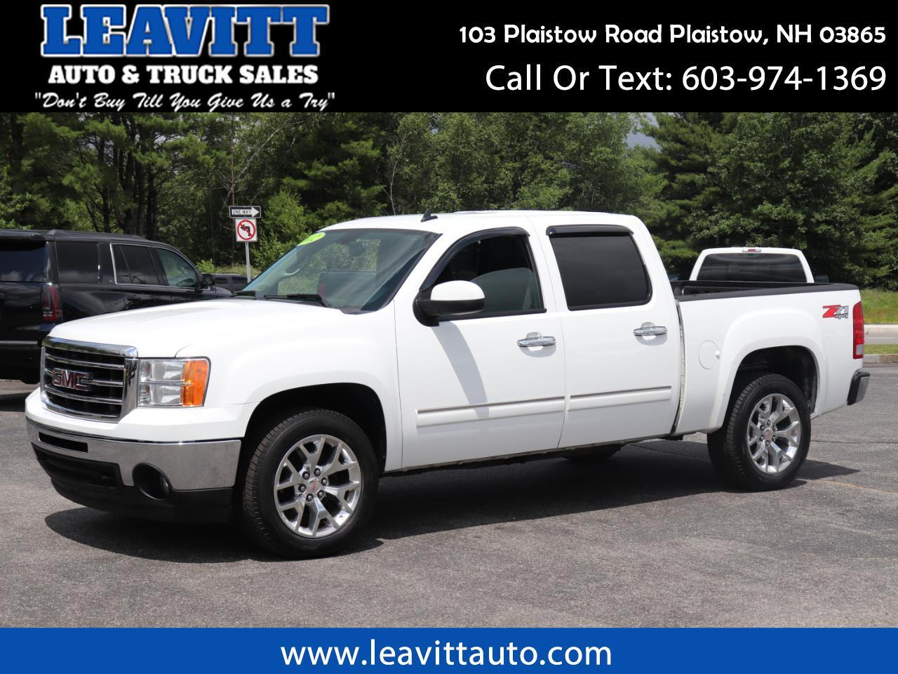 2012 GMC Sierra 1500 SLT CREW CAB 4X4 LEATHER CLEAN!!!