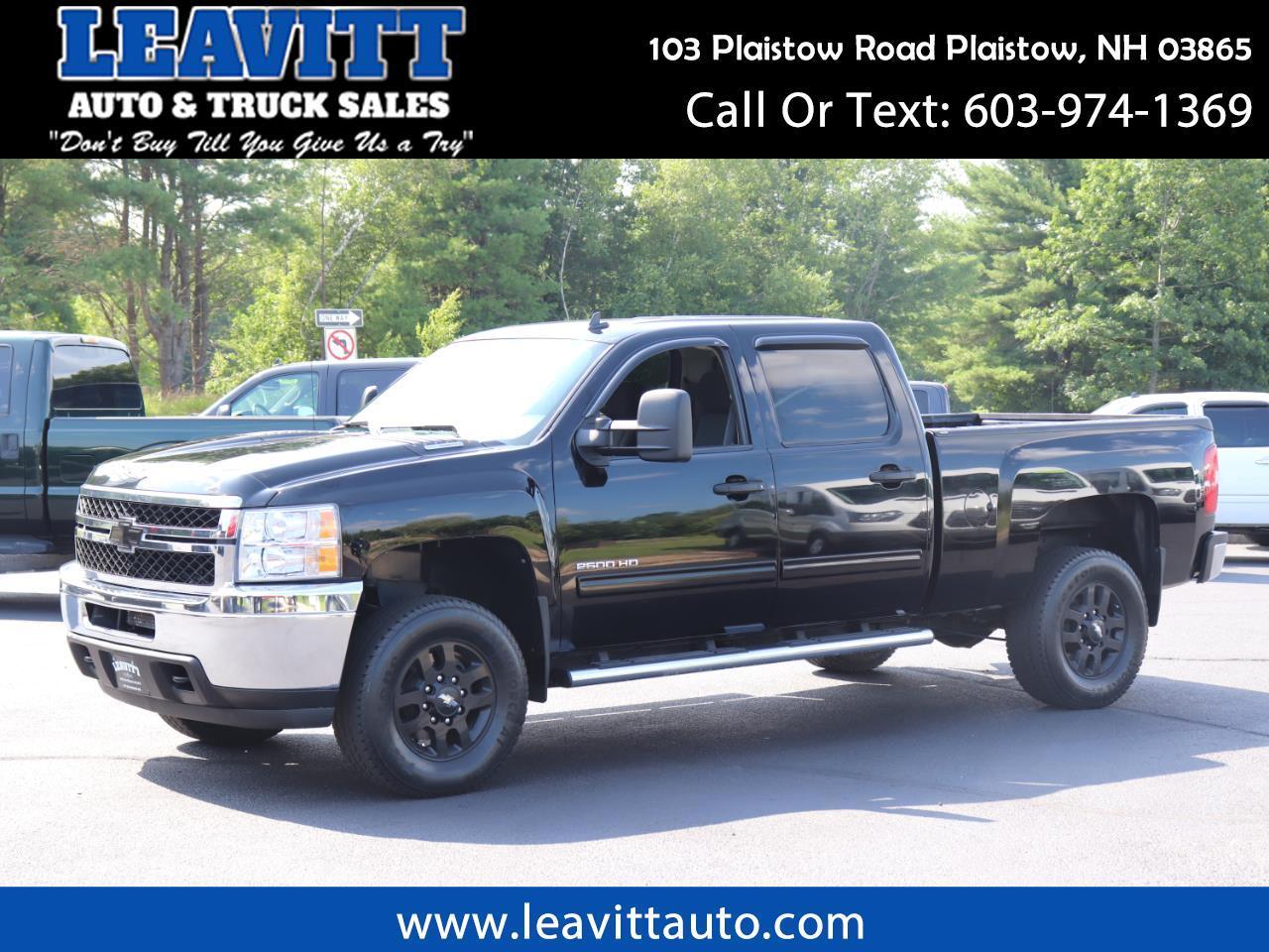2011 Chevrolet Silverado 2500HD LT CREW CAB 6.6L DURAMAX 71K MILES!!