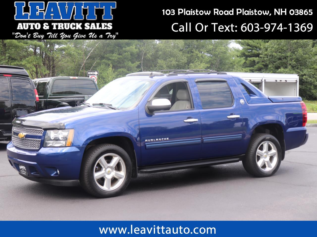 2013 Chevrolet Avalanche LT BLACK DIAMOND 4X4