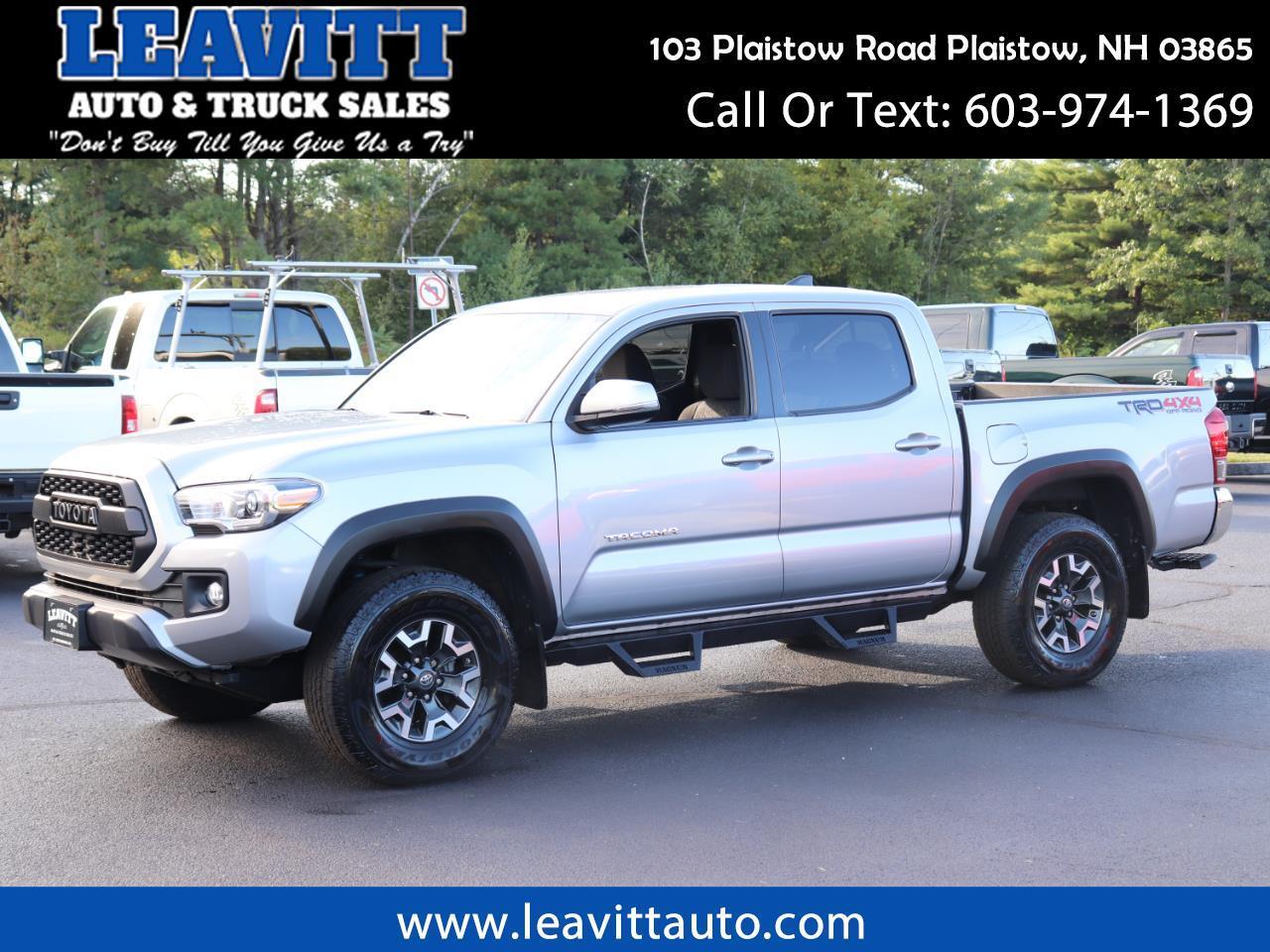 2017 Toyota Tacoma TRD OFF ROAD DOUBLE CAB 4X4 21K MILES