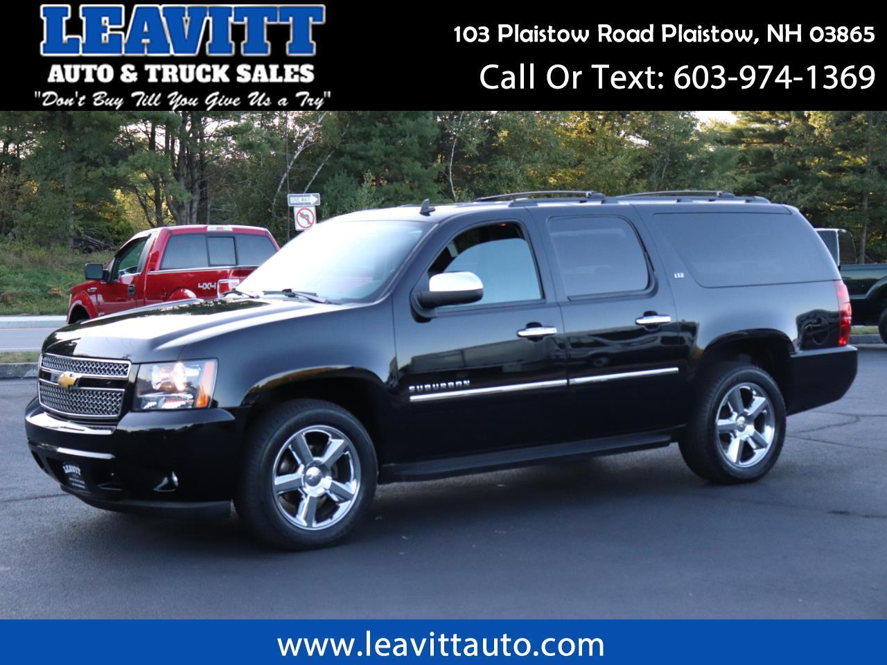 2014 Chevrolet Suburban LTZ BLACK/BLACK LOADED 62K MILES!!