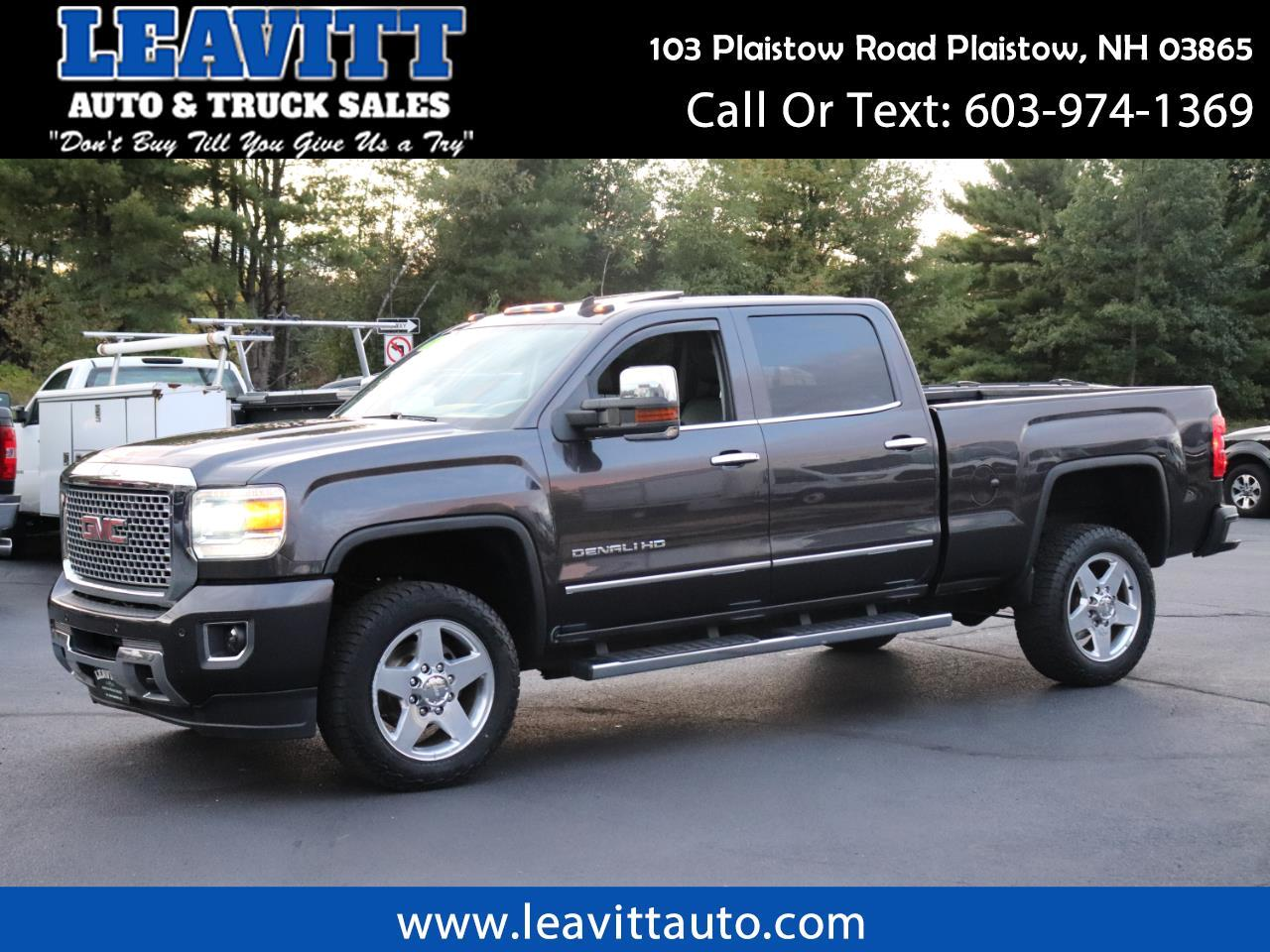 2015 GMC Sierra 2500HD DENALI CREW CAB LOADED!!