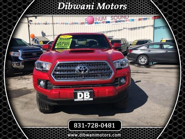 2017 Toyota Tacoma 4WD Double Cab LB V6 AT TRD Sport (Natl)