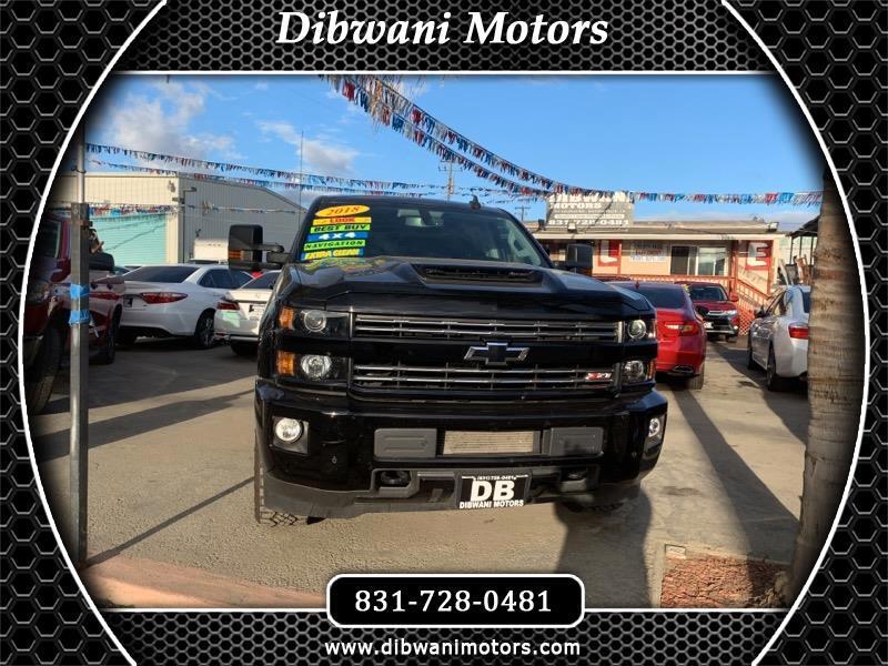 2018 Chevrolet Silverado 2500HD LT Crew Cab Long Box 4WD