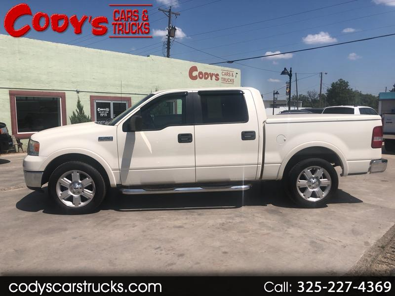 "Ford F-150 2WD SuperCrew 157"" Lariat 2008"