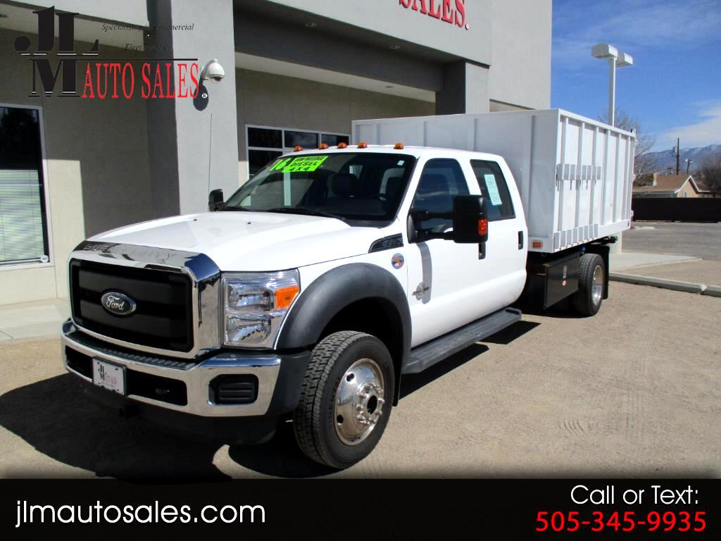 2016 Ford F-450 SD Crew Cab DRW 4WD
