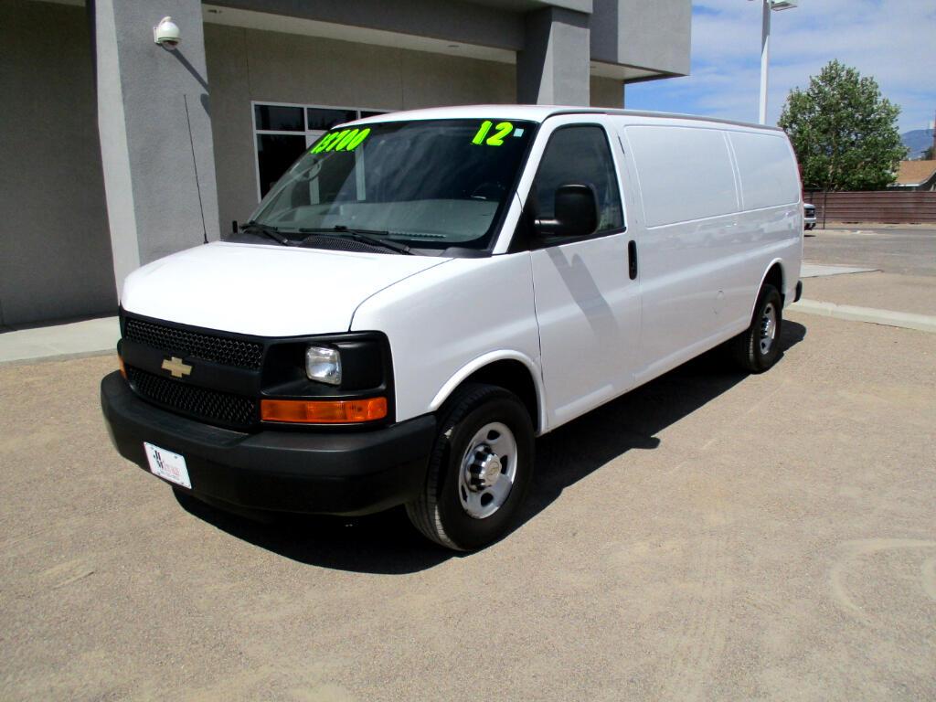 2012 Chevrolet Express 2500 Cargo Extended