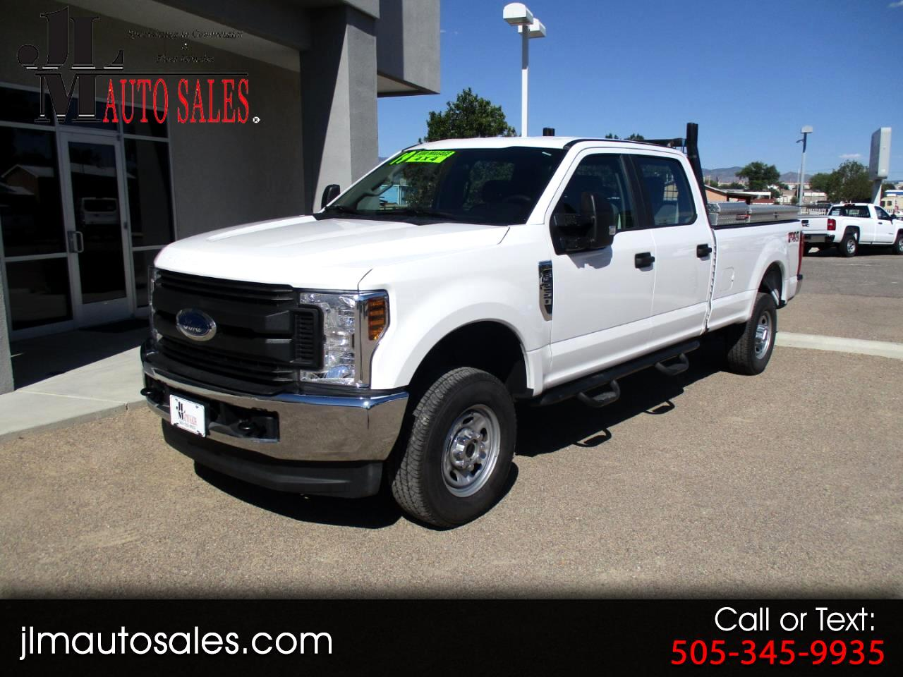 2019 Ford F-250 SD XL Crew Cab Long Bed 4WD