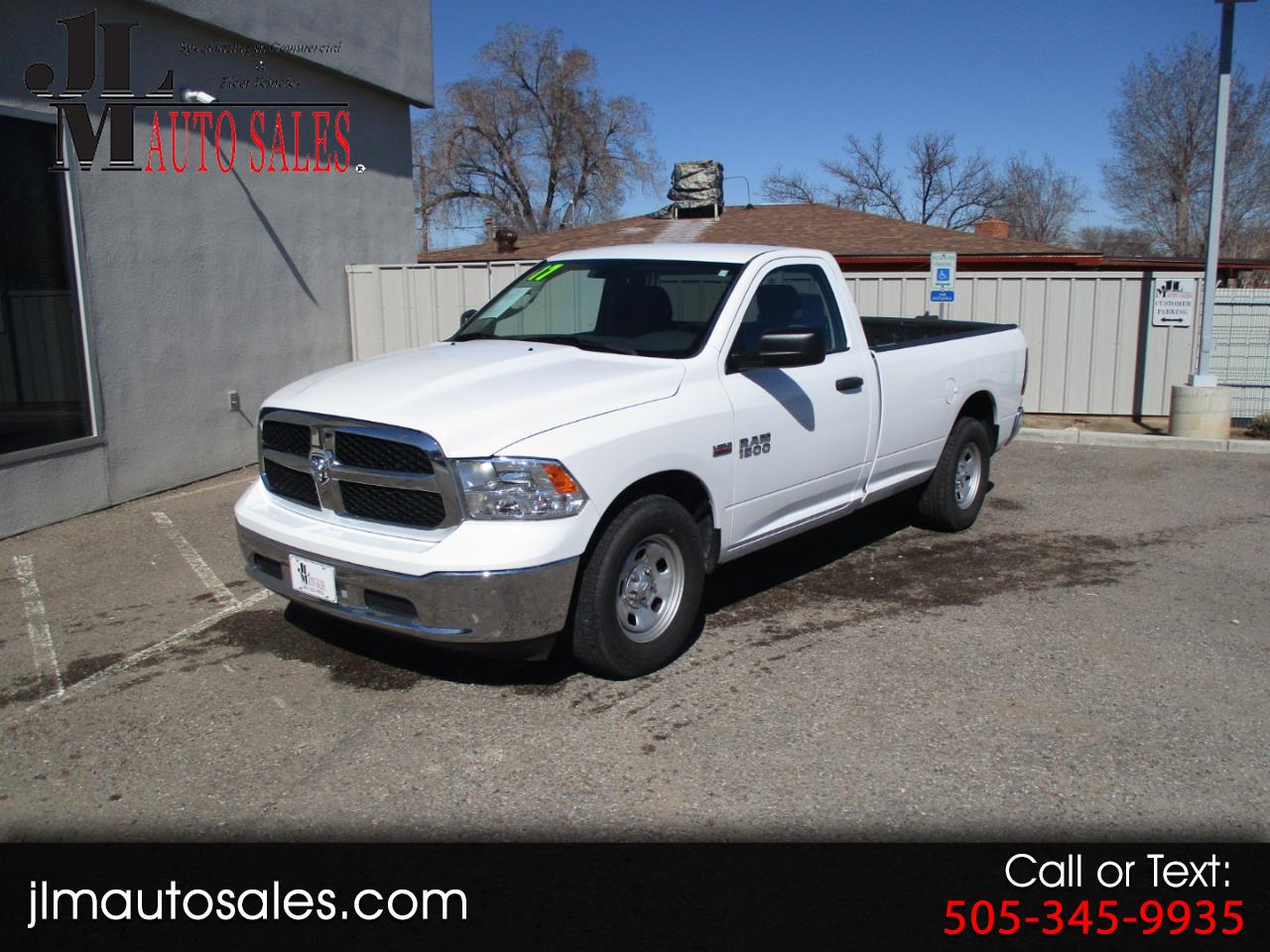 RAM 1500 Tradesman Regular Cab LWB 2WD 2017