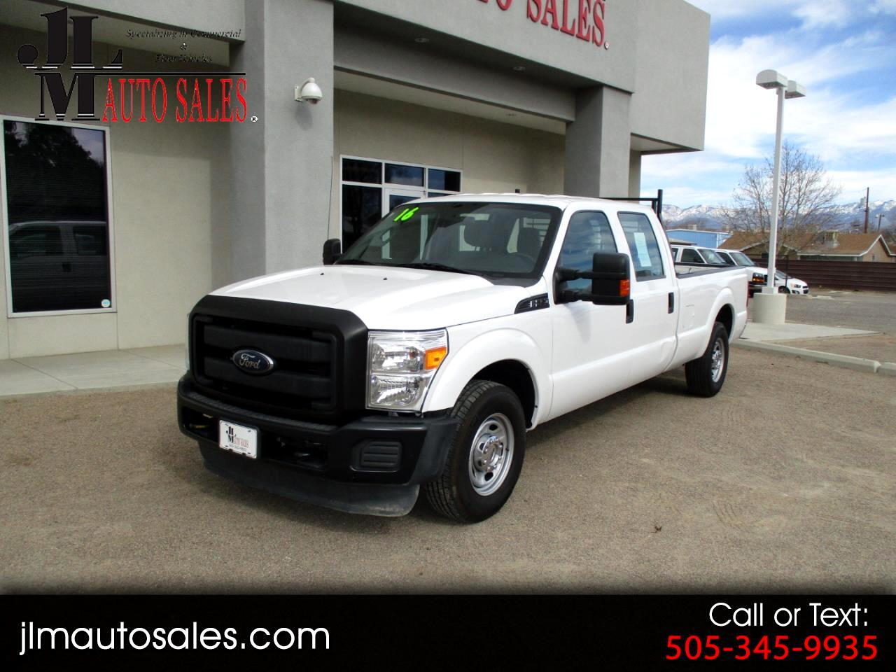 Ford F-250 SD XL Crew Cab Long Bed 2WD 2016