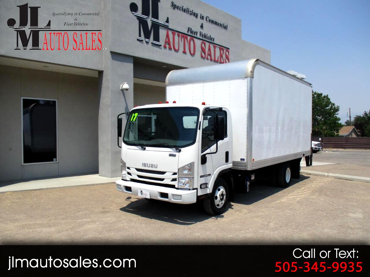 "Isuzu NPR HD DSL REG AT 150"" WB WHITE CAB IBT AIR PWL 2017"