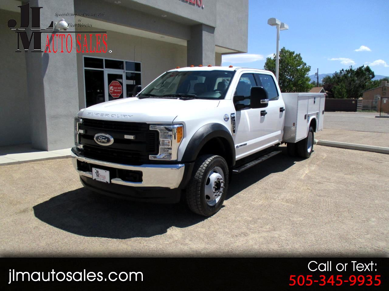"Ford Super Duty F-550 DRW XL 4WD Crew Cab 179"" WB 60"" CA 2017"