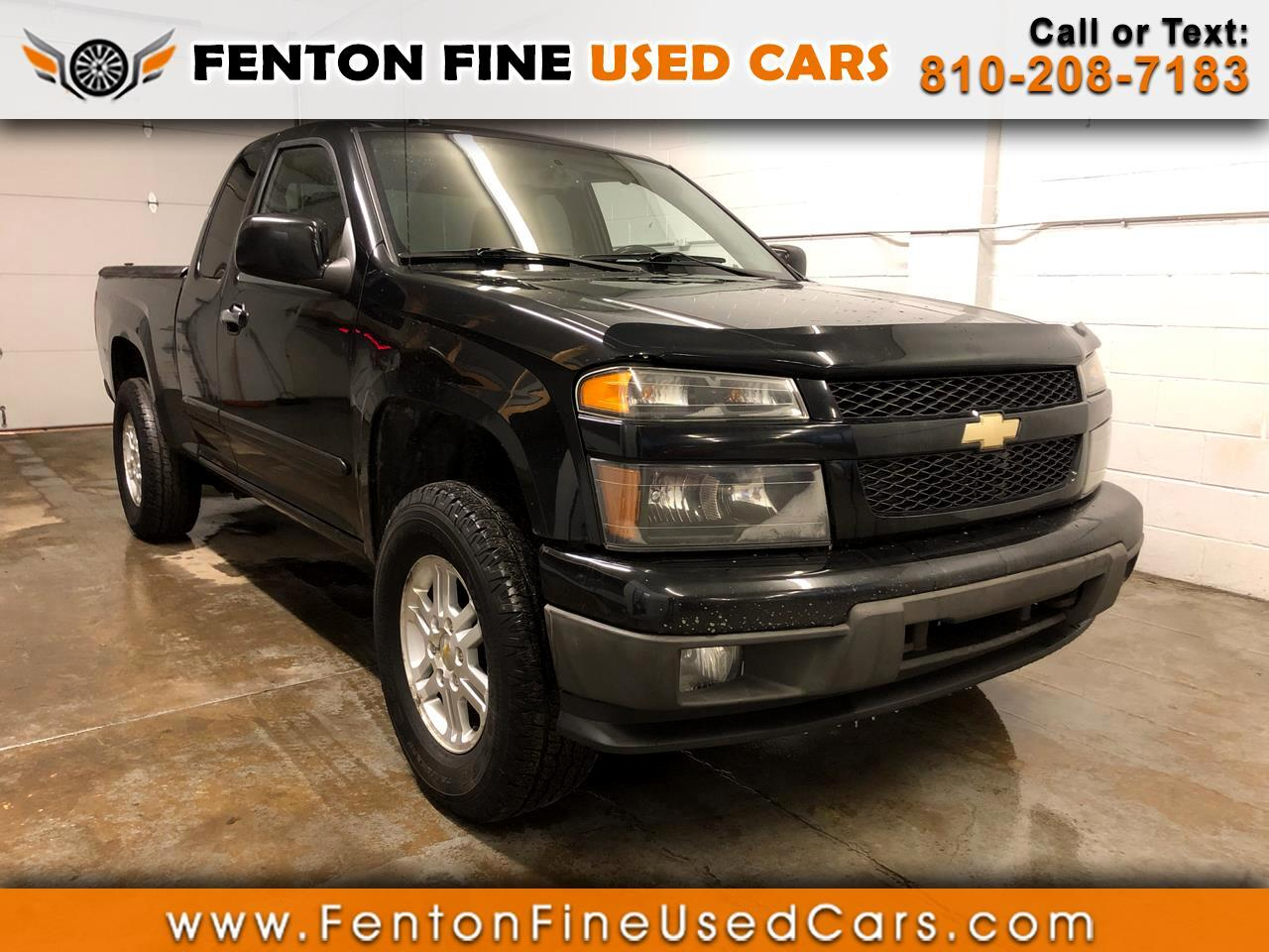 2012 Chevrolet Colorado 4WD Ext Cab LT w/1LT