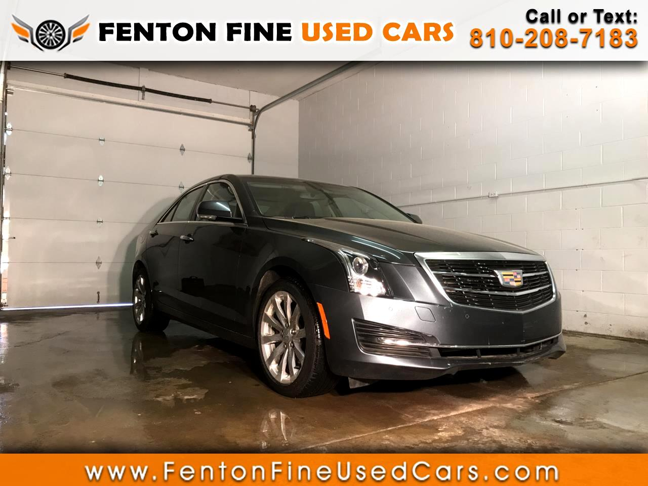 2018 Cadillac ATS Sedan 4dr Sdn 2.0L Luxury AWD
