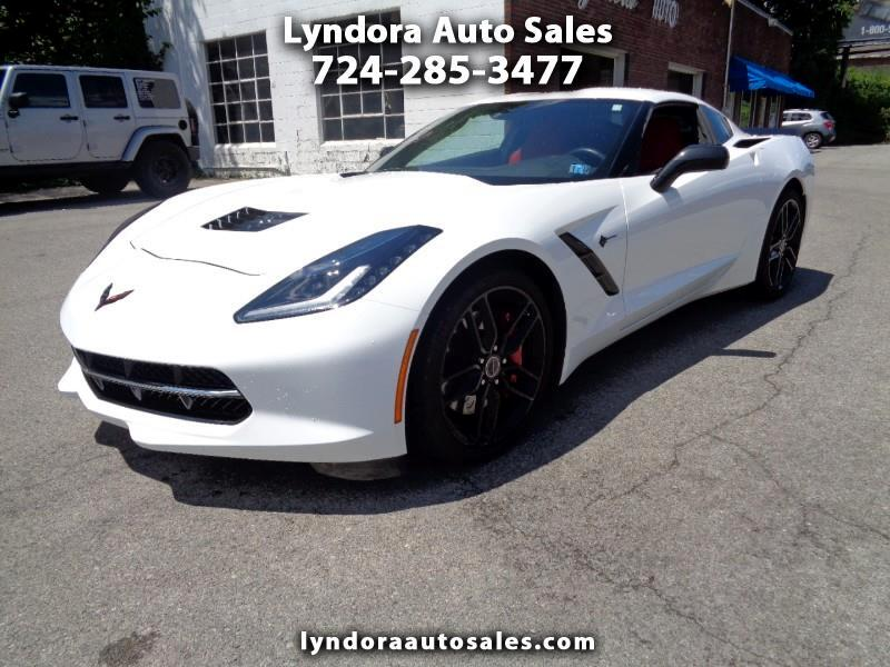 2015 Chevrolet Corvette Z51 1LT Coupe Manual