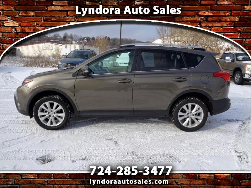 Toyota RAV4 Limited AWD 2013
