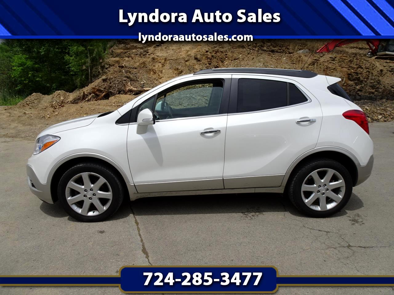 Buick Encore AWD 4dr Leather 2015