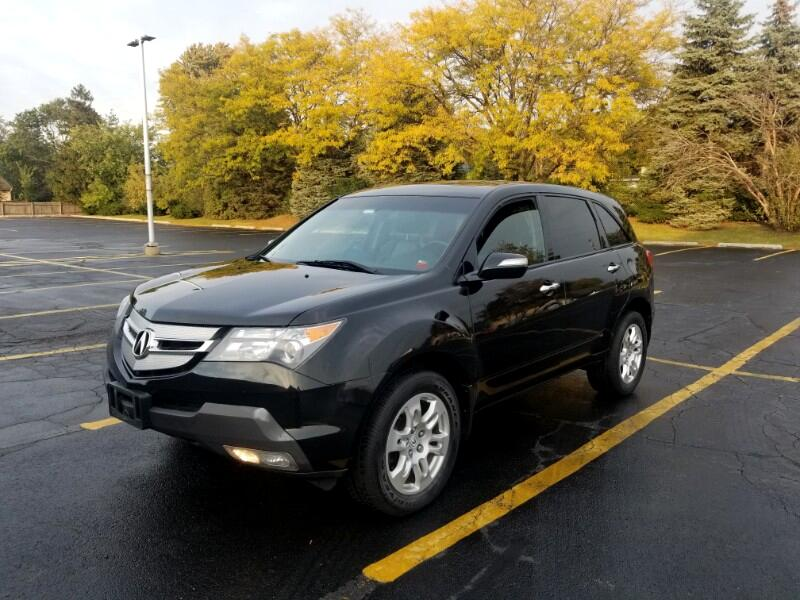 Acura MDX 4dr SUV Touring Pkg w/Navigation 2009