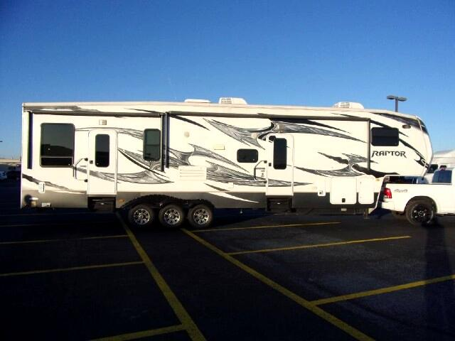 2012 Keystone RV Raptor Toy Hauler 365 LEV
