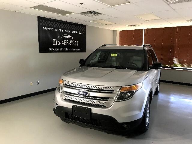 2013 Ford Explorer XLT 4-Door 4WD