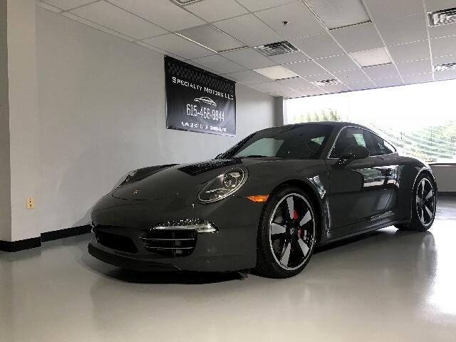 2014 Porsche 911 2dr Cpe 50th Anniversary Edition