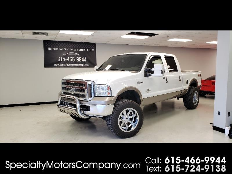 2005 Ford F-350 SD King Ranch Crew Cab 4WD