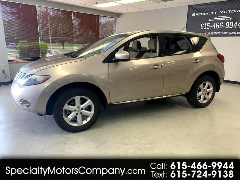 2010 Nissan Murano 4dr S FWD V6