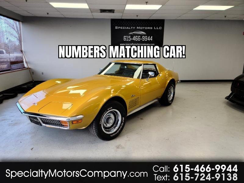 Chevrolet Corvette 2dr Coupe 1972