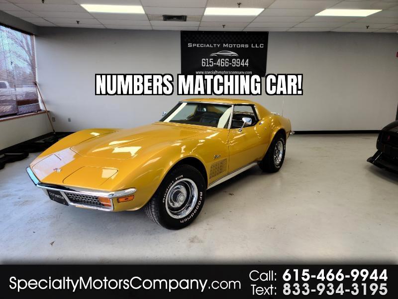 Chevrolet Corvette 2dr Coupe 1972