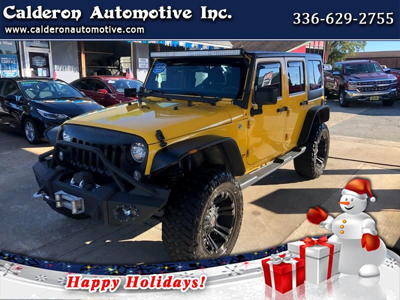Jeep Wrangler 4WD 4dr Unlimited Sahara 2015