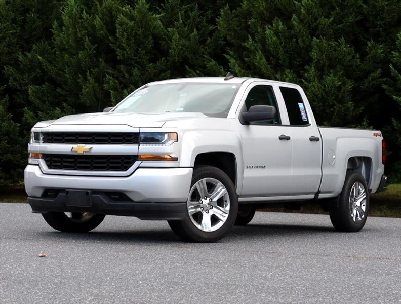 "Chevrolet Silverado 1500 4WD Double Cab 143.5"" Custom 2018"