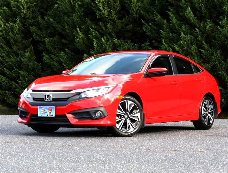 Honda Civic EX-T Sedan CVT 2017