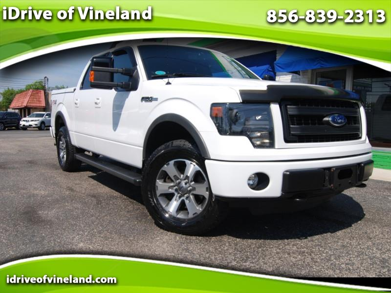 2013 Ford F-150 FX4 SuperCrew 6.5-ft Box 4WD