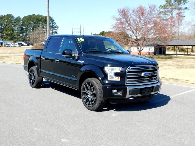 Ford F-150 Limited 4WD SuperCrew 5.5' Box 2016